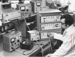 L300 being tested in the Microwave Lab, Gloucester Street