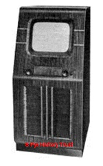1939 Pye 12C television (915 chassis)