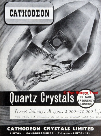 Cathodeon Crystals Brochure